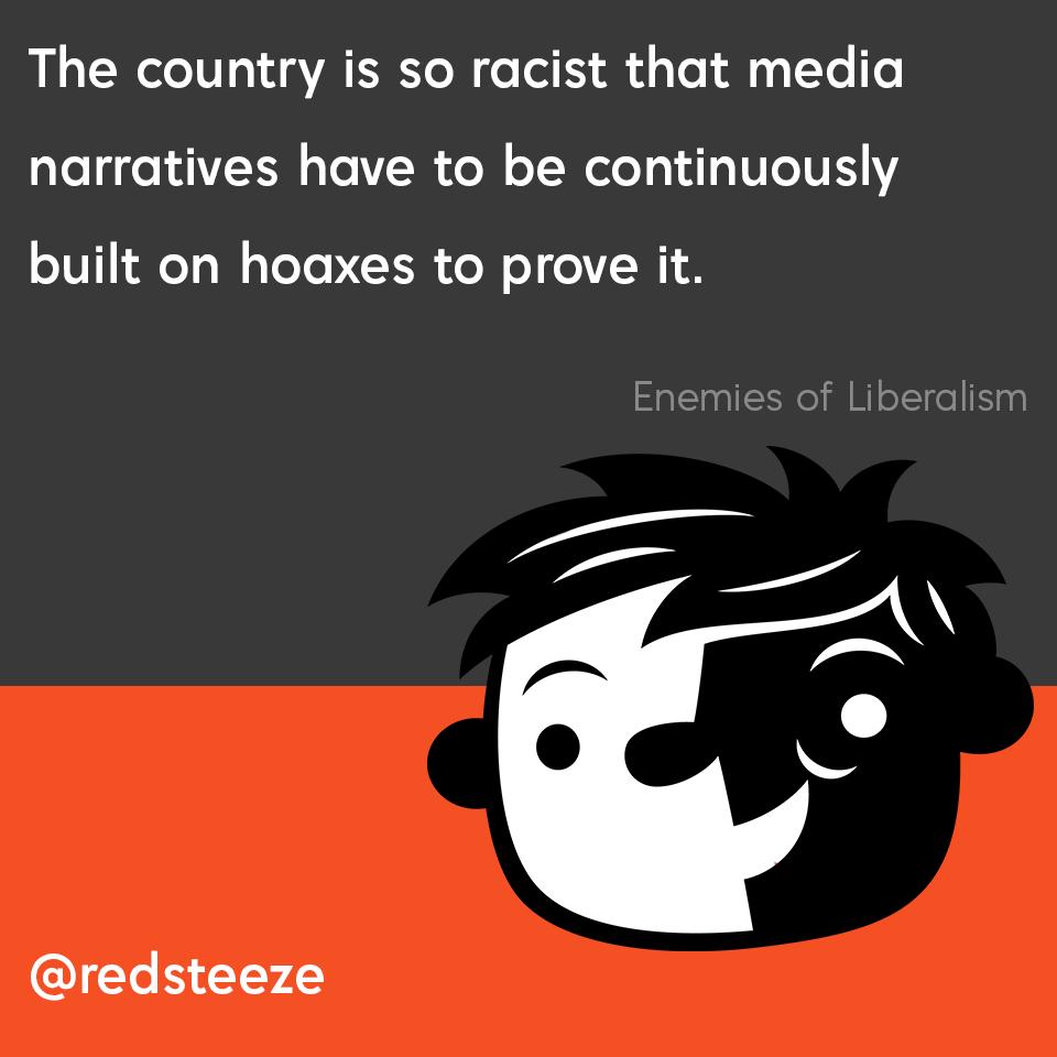 Race lies hoaxes