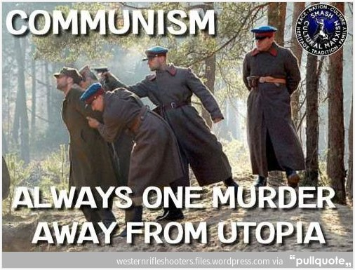 Socialism one kill from perfection