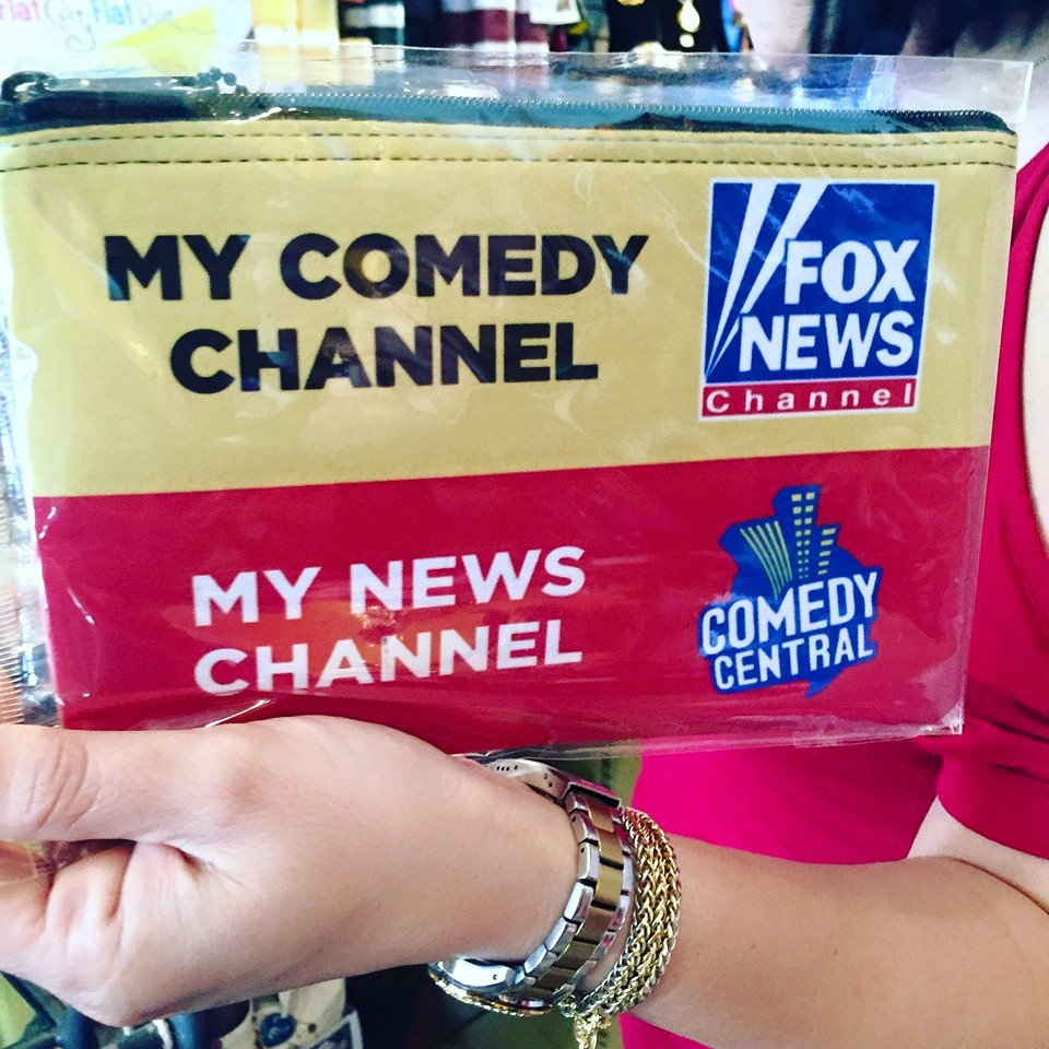 Stupid liberals get news from comedy channel