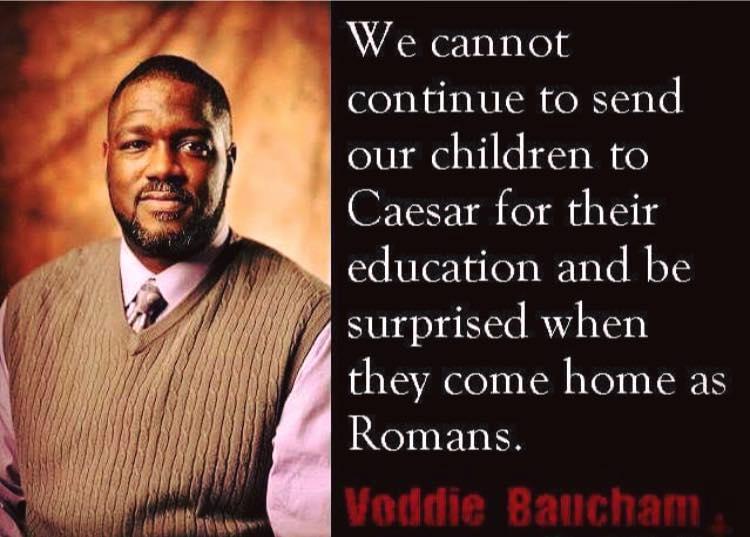 Wisdom Caesar educates children to be Romans
