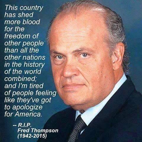 Wisdom No apologies for America