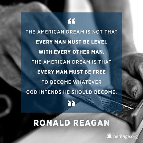 Wisdom Reagan on American dream of opportunity
