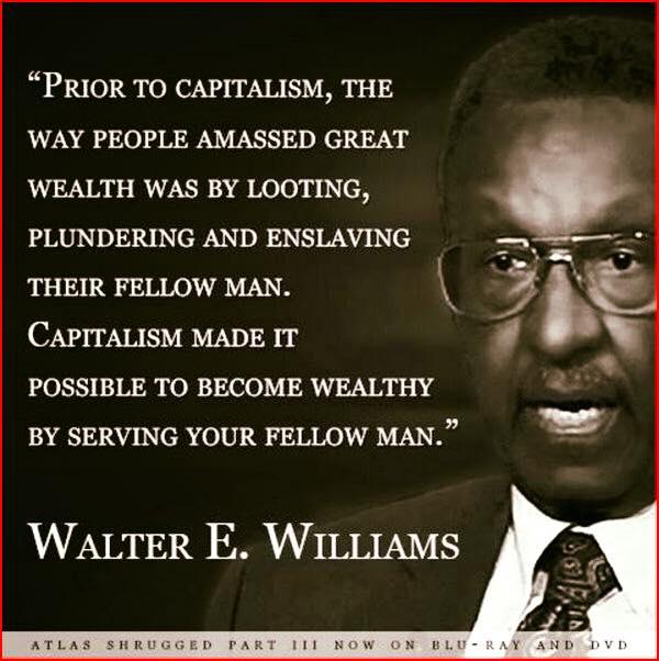 Wisdom Walter Williams on capitalism
