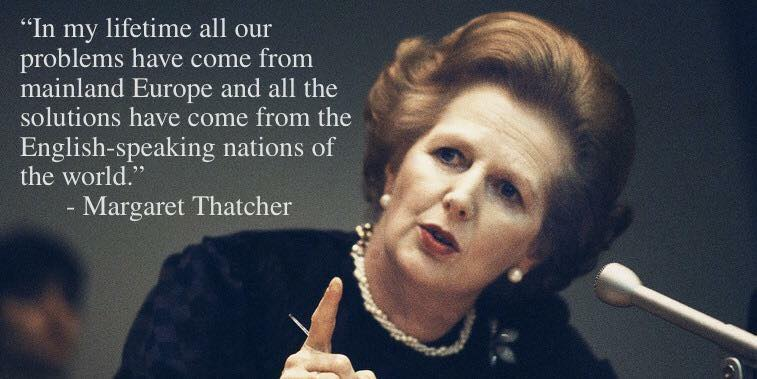 Brexit Thatcher on Europe