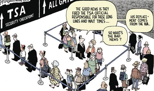 Government TSA VA lines