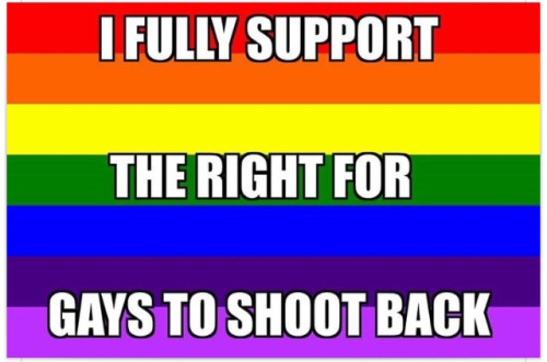 Guns and gay right to self protection