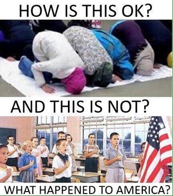 Islam prayer yes Christian prayer no