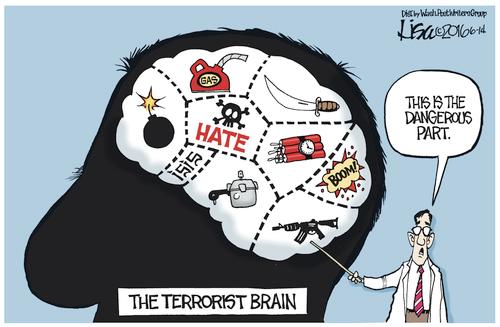 Islam the terrorist brain