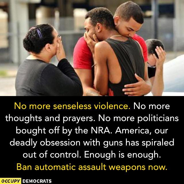 Occupy Democrats gun control Orlando
