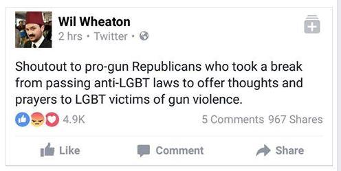 Will Wheaton on Orlando