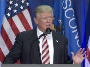 Donald Trump's Milwaukee speech