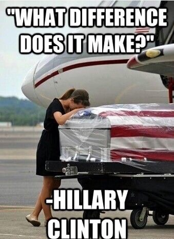 Clinton What difference does it make