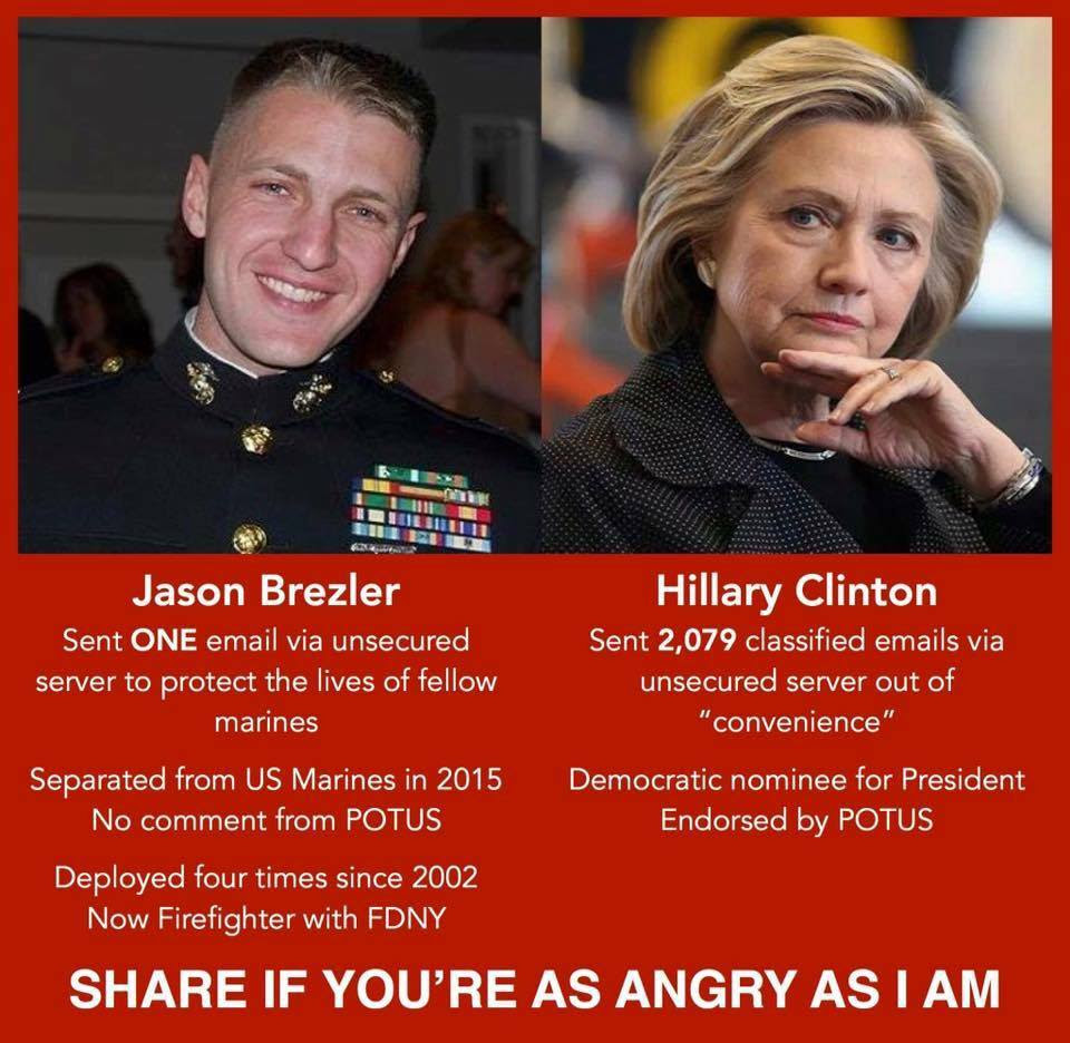 Hillary double standards 2