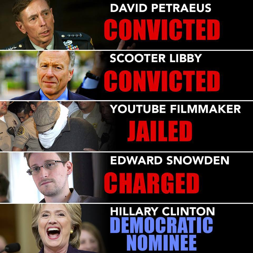 Hillary double standards 8