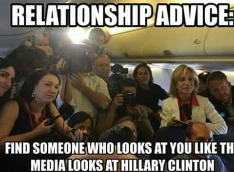Hillary media love affair