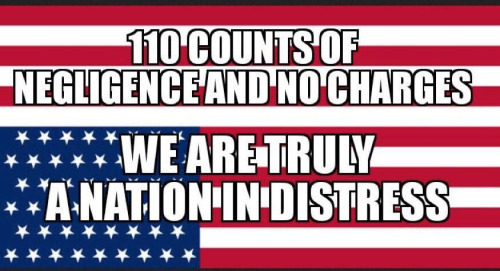 Hillary no charges national distress