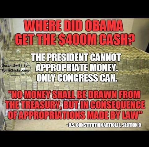 Obama Iran 400 million where did it come from
