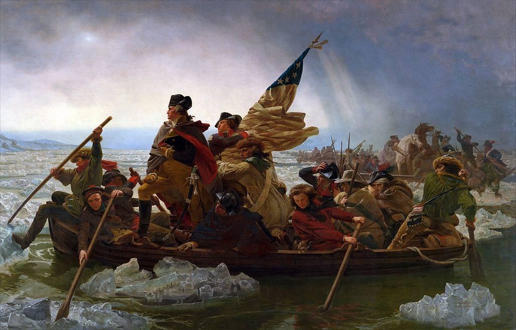 Washington Crossing Delaware on Christmas