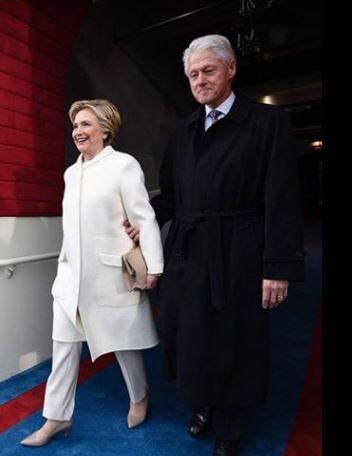 Hillary adulation