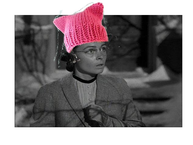 donna-reed-in-pussy-hat