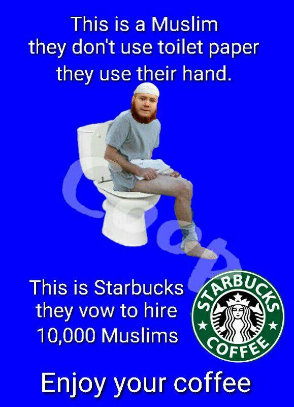 muslims-poop-starbucks