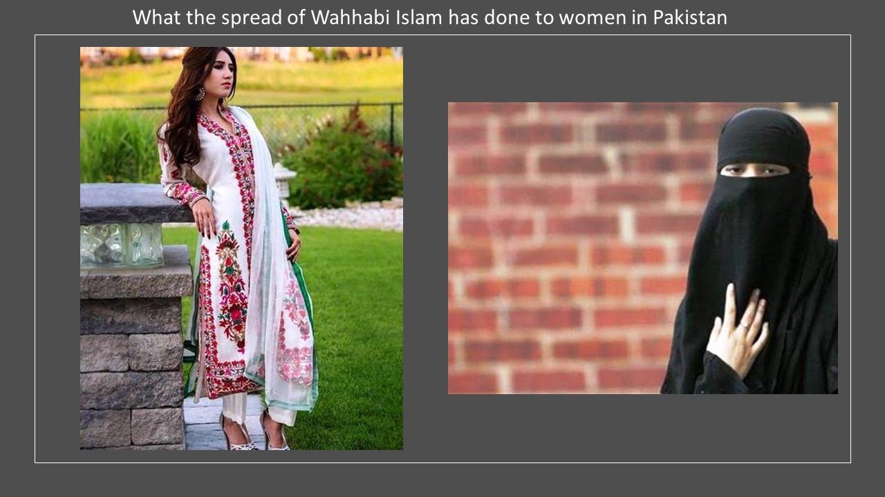 Pakistan costume Wahhabi Islam