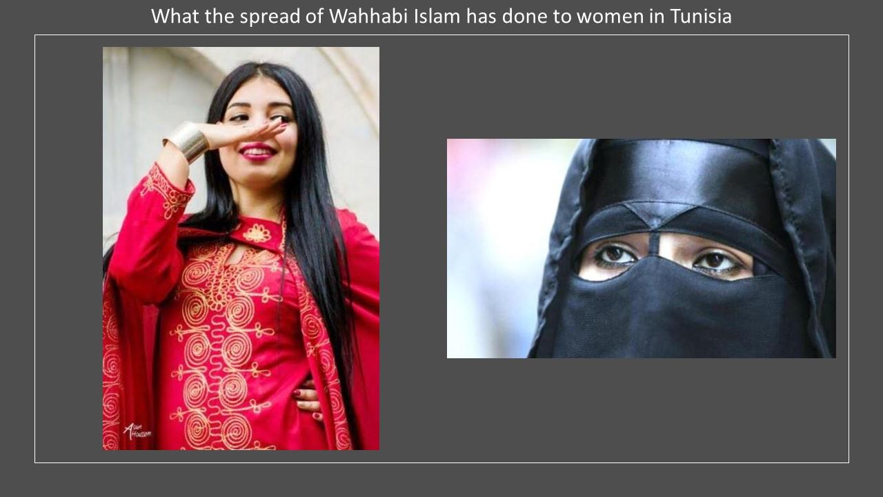 Tunisian costume Wahhabi Islam