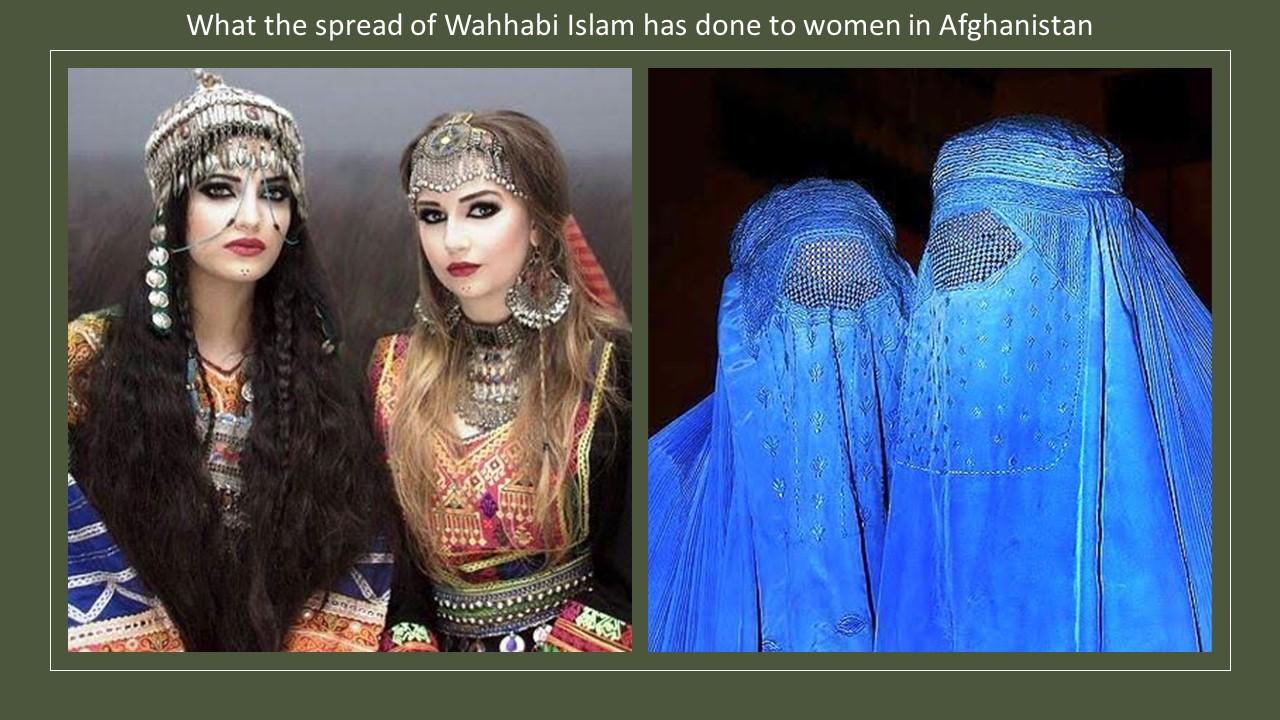 Afghanistan costume Wahhabi Islam