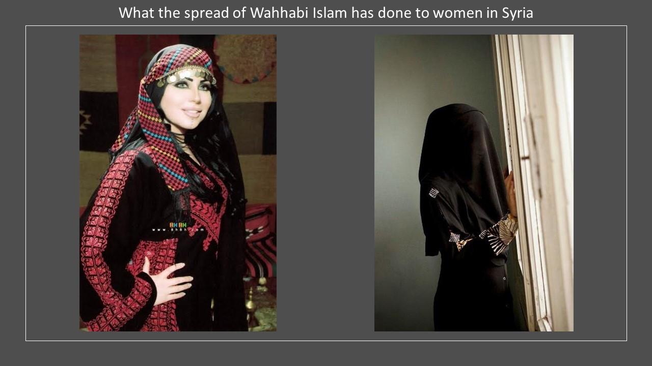 Syria costume Wahhabi Islam