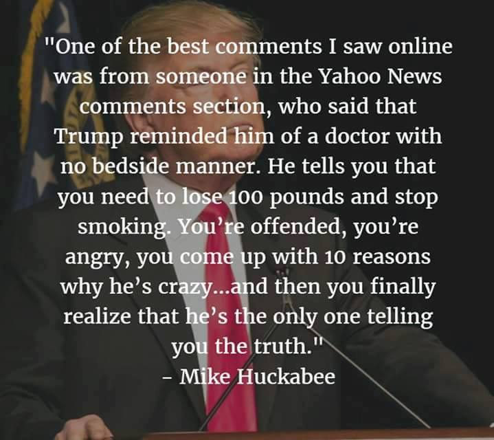 Trump political poster smart doctor