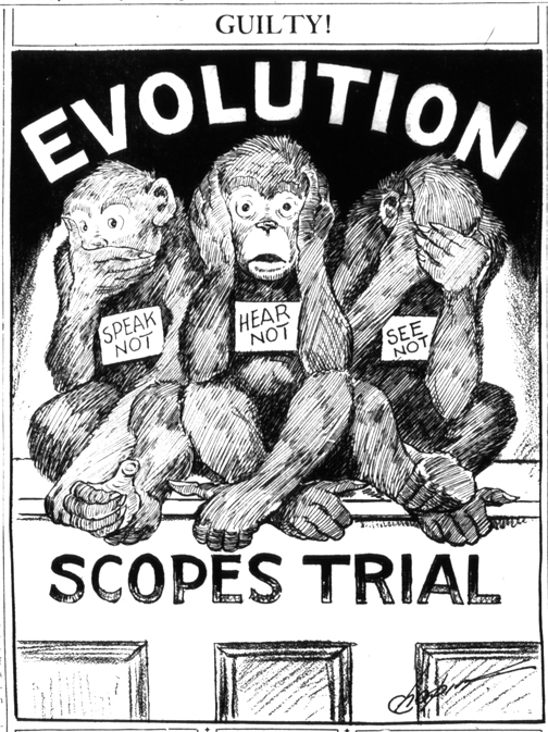 Scopes Monkey Trial March for Science
