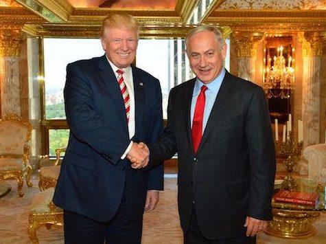 Donald Trump Netanyahu no antisemitism