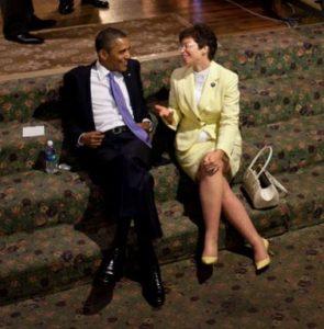 Barack Obama Valerie Jarrett