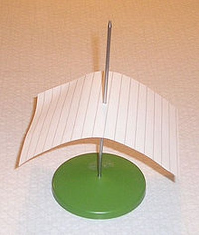 Paper on spindle
