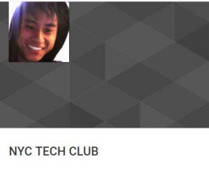 Web design NYC Tech Club