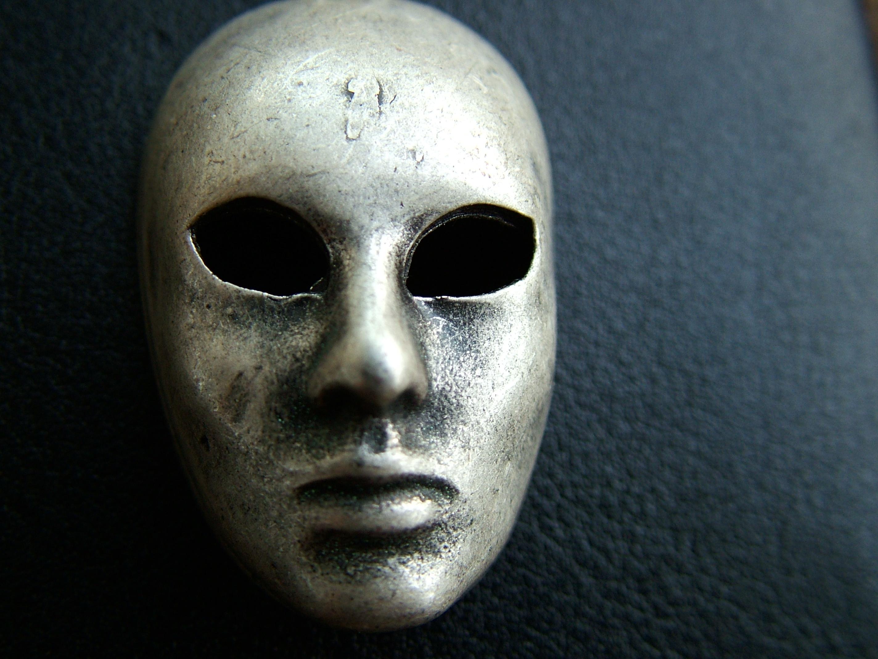 Iron mask sociopath