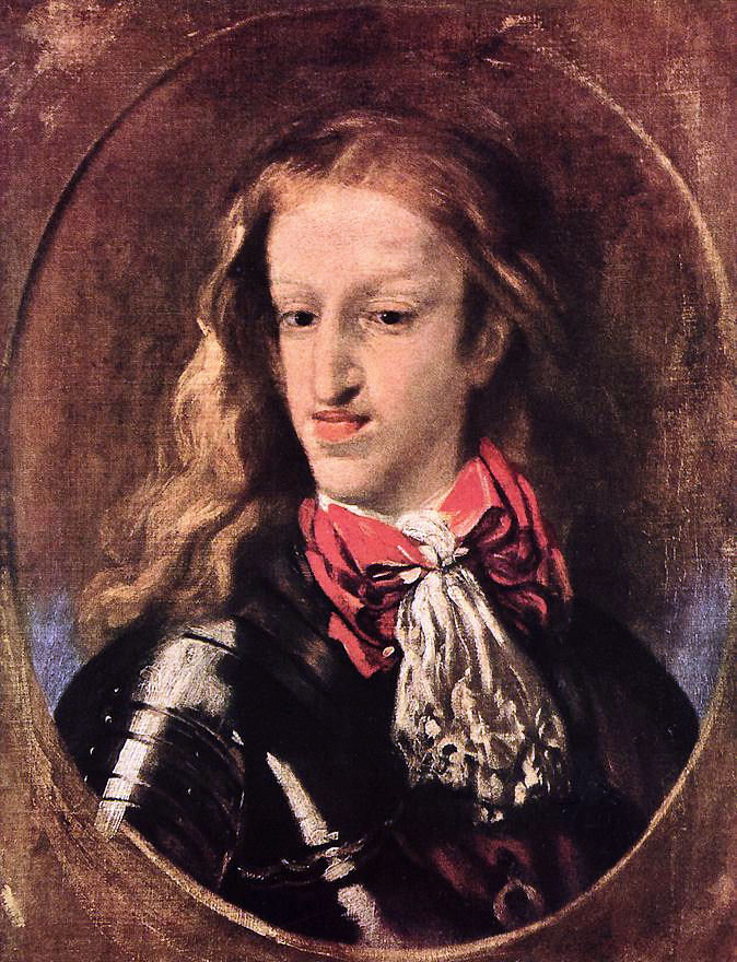 Charles II Spain incest madness intellectual incest