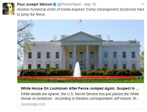 White House lockdown slow motion assassination