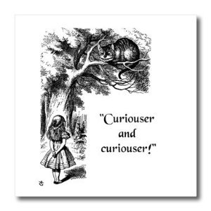 Trump and Comey Alice in Wonderland Curiouser and Curiouser