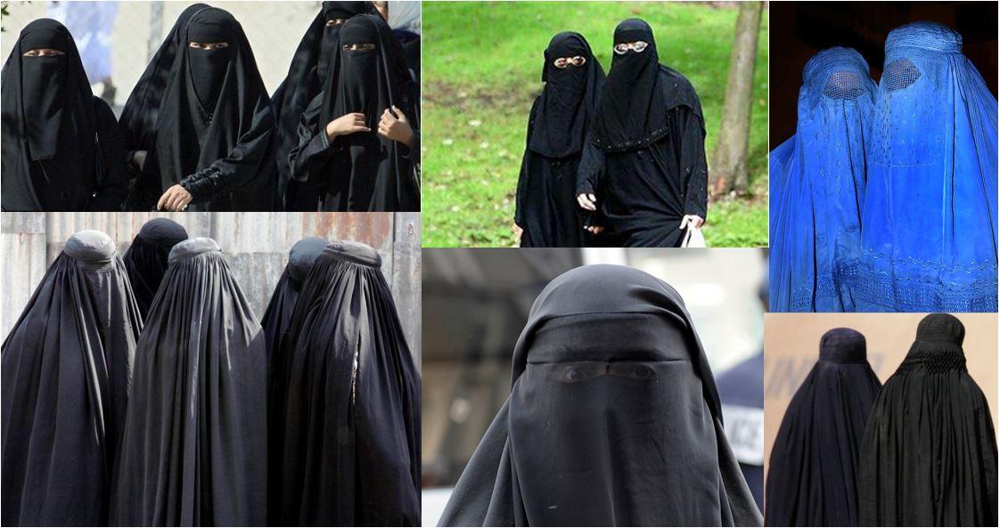 Burqa, Hijab, Niqab