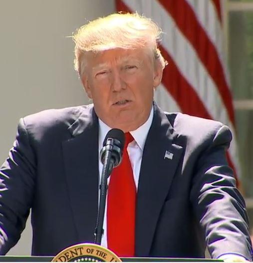 President Trump Paris Accord
