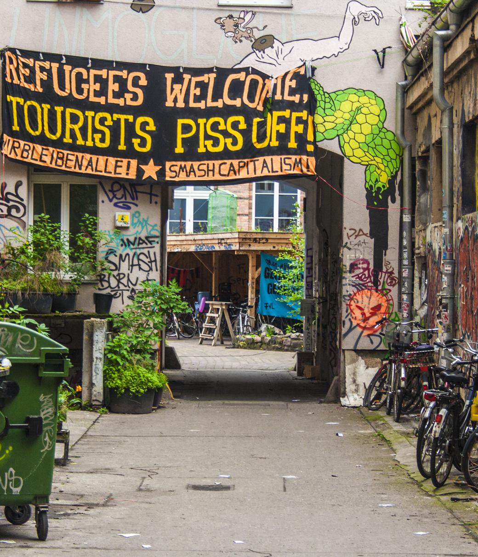 Refugees German Leftists cognitive dissonance