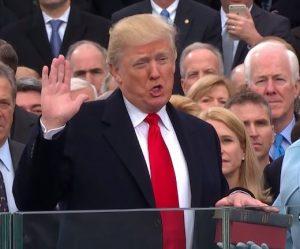 President Trump Oath of Office MAGA