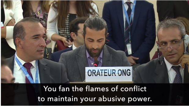 Mosab Hassan Yousef United Nations UN Palestinians Israel
