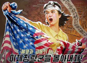 North Korea Propaganda anti-American
