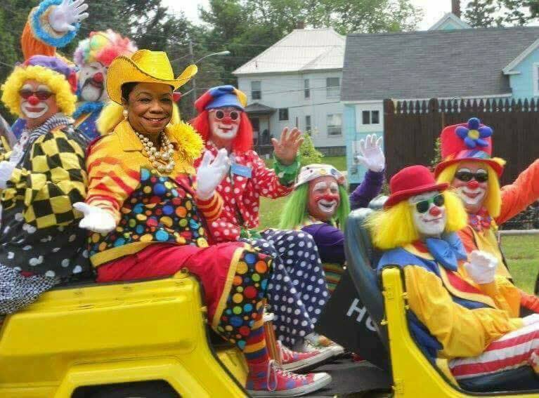 Frederica Wilson And Fellow Clowns Bookworm Room