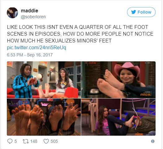 Hollywood Dan Schneider Foot Fetish