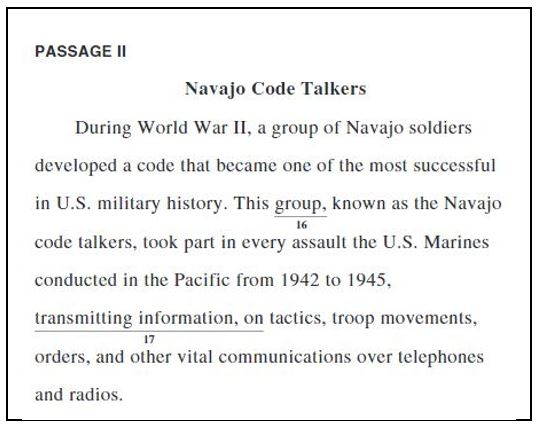 essay on navajo code talkers Preston boyden dr derek bruff november 2, 2010 cryptography essay #2 the navajo code talkers during wartime, the most important factors of effective communication are.