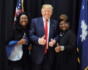 Trump Supporters Racist Donald Trump Diamond and Silk Nationalist's Delusions
