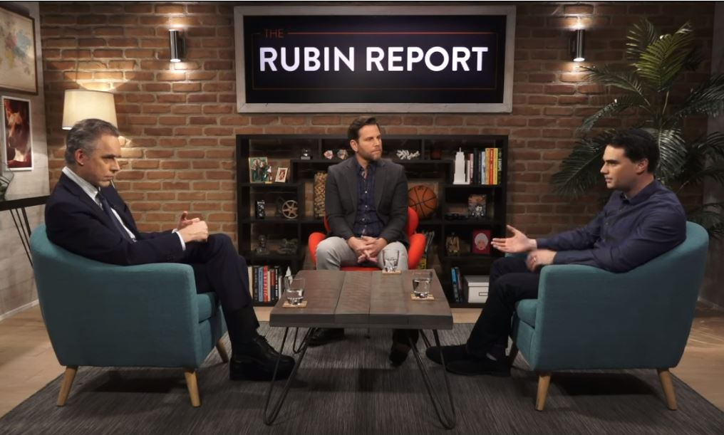 Rubin Report Ben Shapiro Jordan Peterson